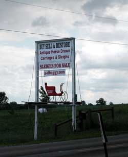 Photo of A & D Buggy sign