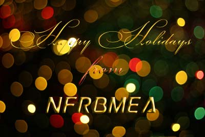 Happy Holidays from NFRBMEA